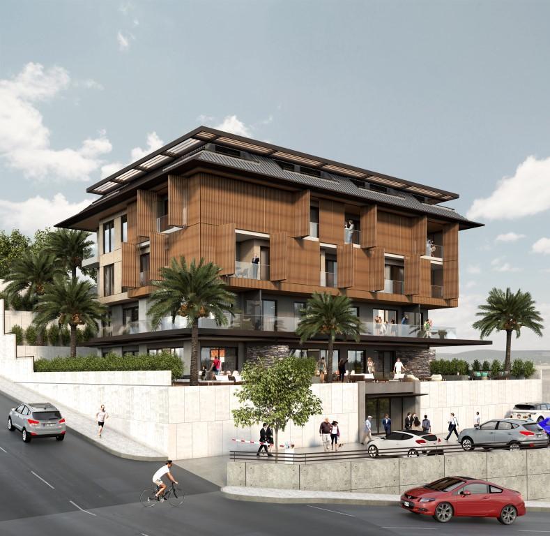Cтроительство нового жилого комплекса в самом центре города Алании  - Фото 5