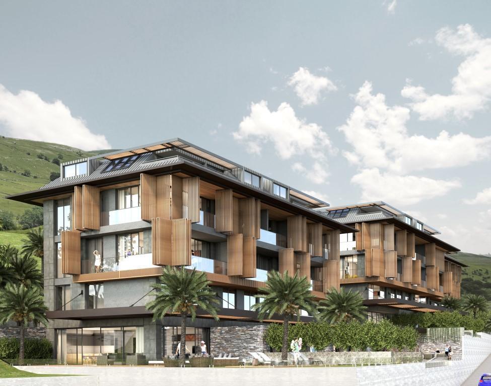 Cтроительство нового жилого комплекса в самом центре города Алании  - Фото 6