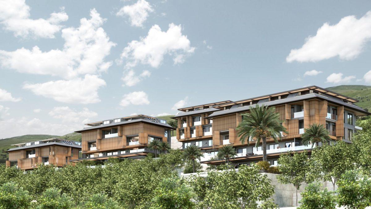 Cтроительство нового жилого комплекса в самом центре города Алании  - Фото 7