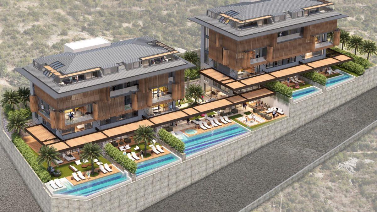 Cтроительство нового жилого комплекса в самом центре города Алании  - Фото 9