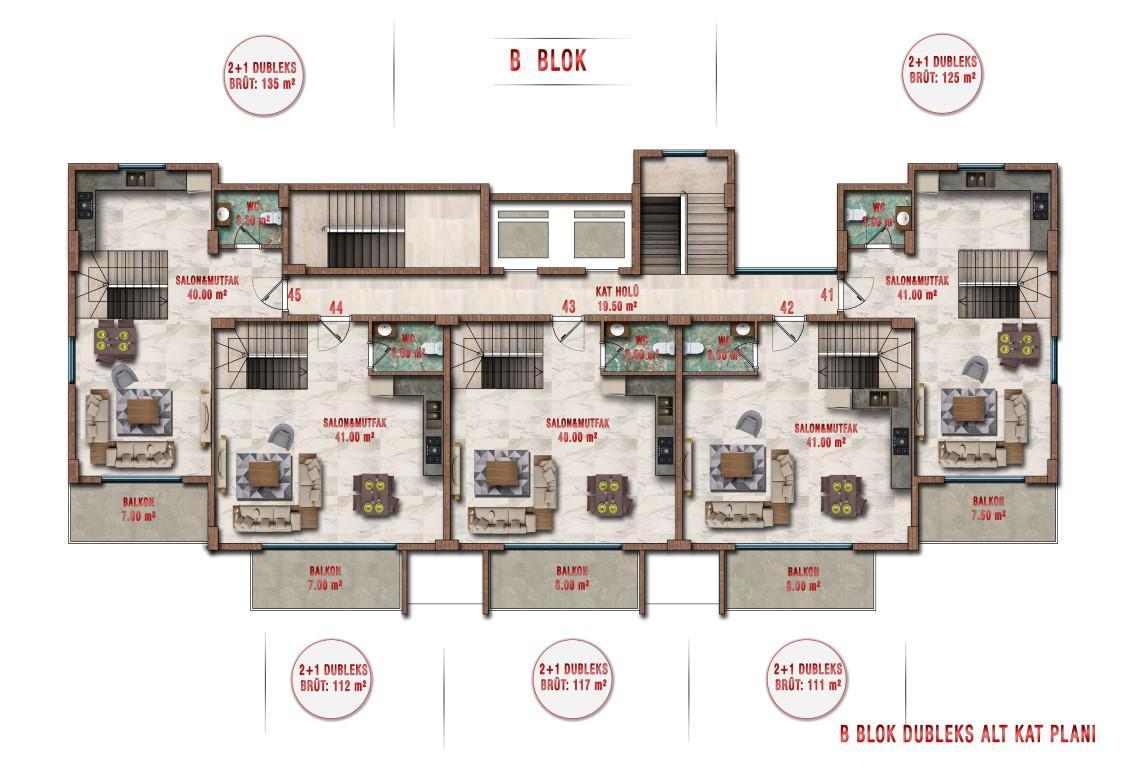 Новые апартаменты по ценам от застройщика в Авсалларе - Фото 36