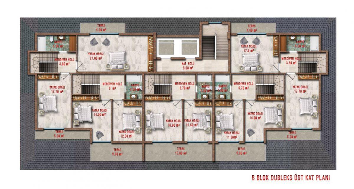Новые апартаменты по ценам от застройщика в Авсалларе - Фото 37