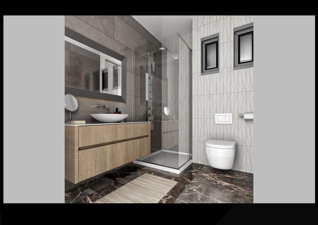 Апартаменты 1+1 в строящемся комплексе в Махмутларе - Фото 13