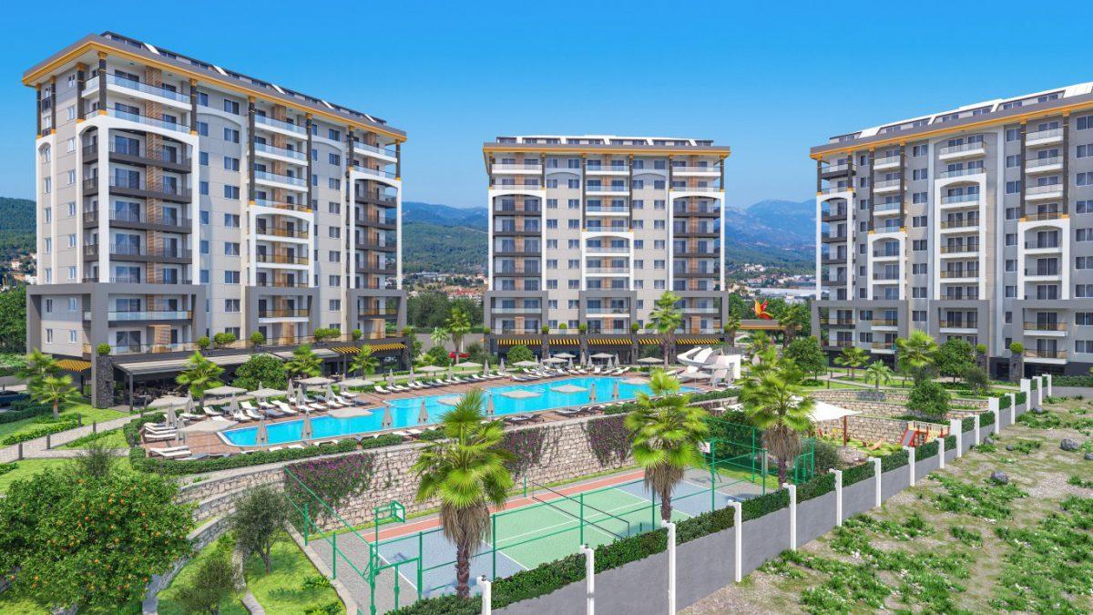 Новые квартиры в районе Авсаллар - Фото 1