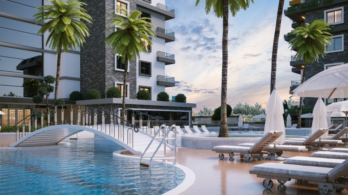 Новые апартаменты по ценам от застройщика в Авсалларе - Фото 1