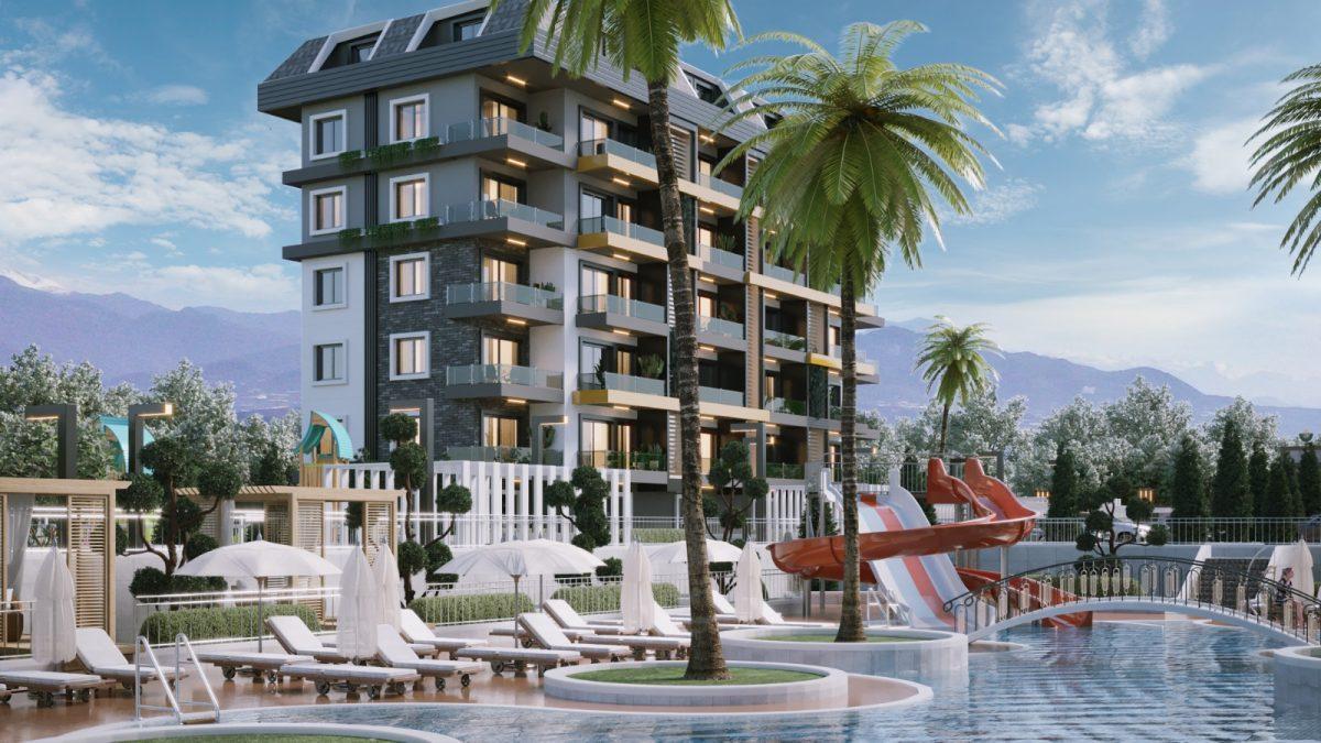 Новые апартаменты по ценам от застройщика в Авсалларе - Фото 2