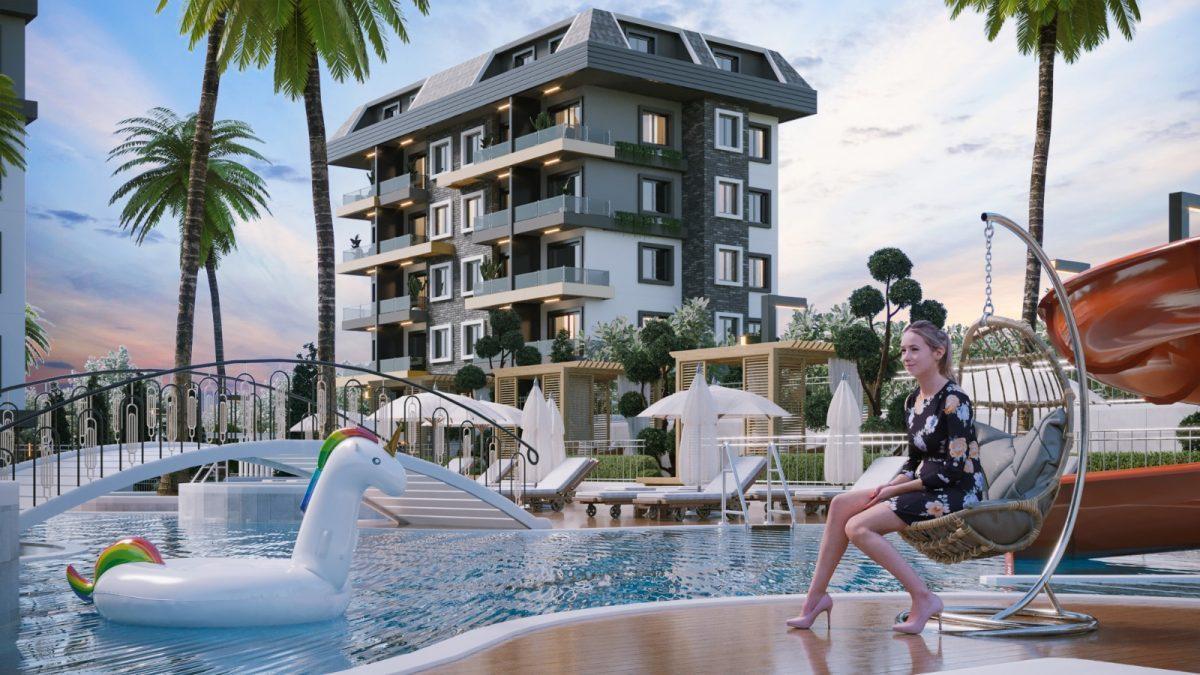 Новые апартаменты по ценам от застройщика в Авсалларе - Фото 3