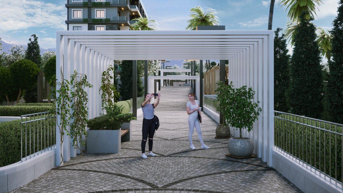 Новые апартаменты по ценам от застройщика в Авсалларе - Фото 4