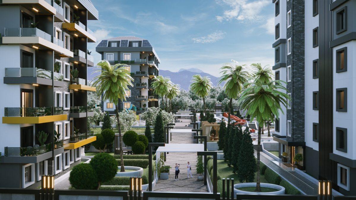 Новые апартаменты по ценам от застройщика в Авсалларе - Фото 5
