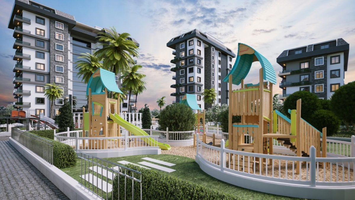 Новые апартаменты по ценам от застройщика в Авсалларе - Фото 21