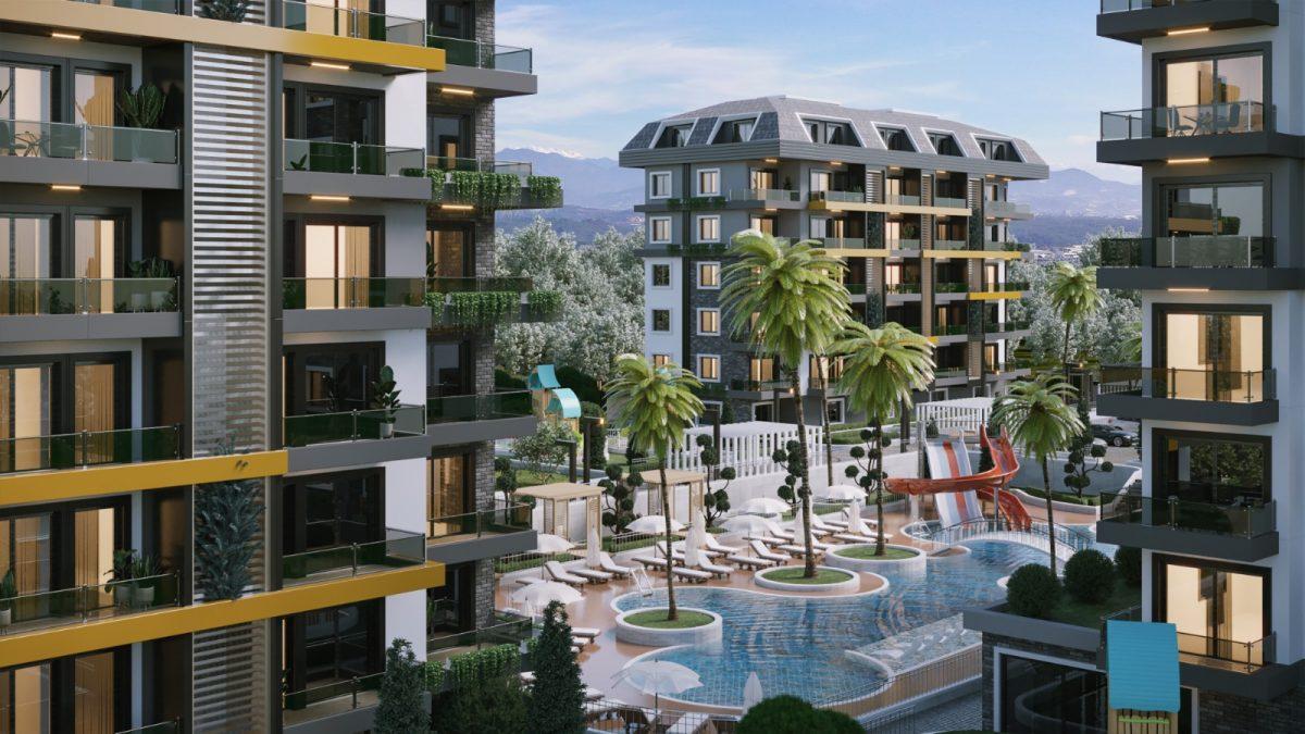 Новые апартаменты по ценам от застройщика в Авсалларе - Фото 6