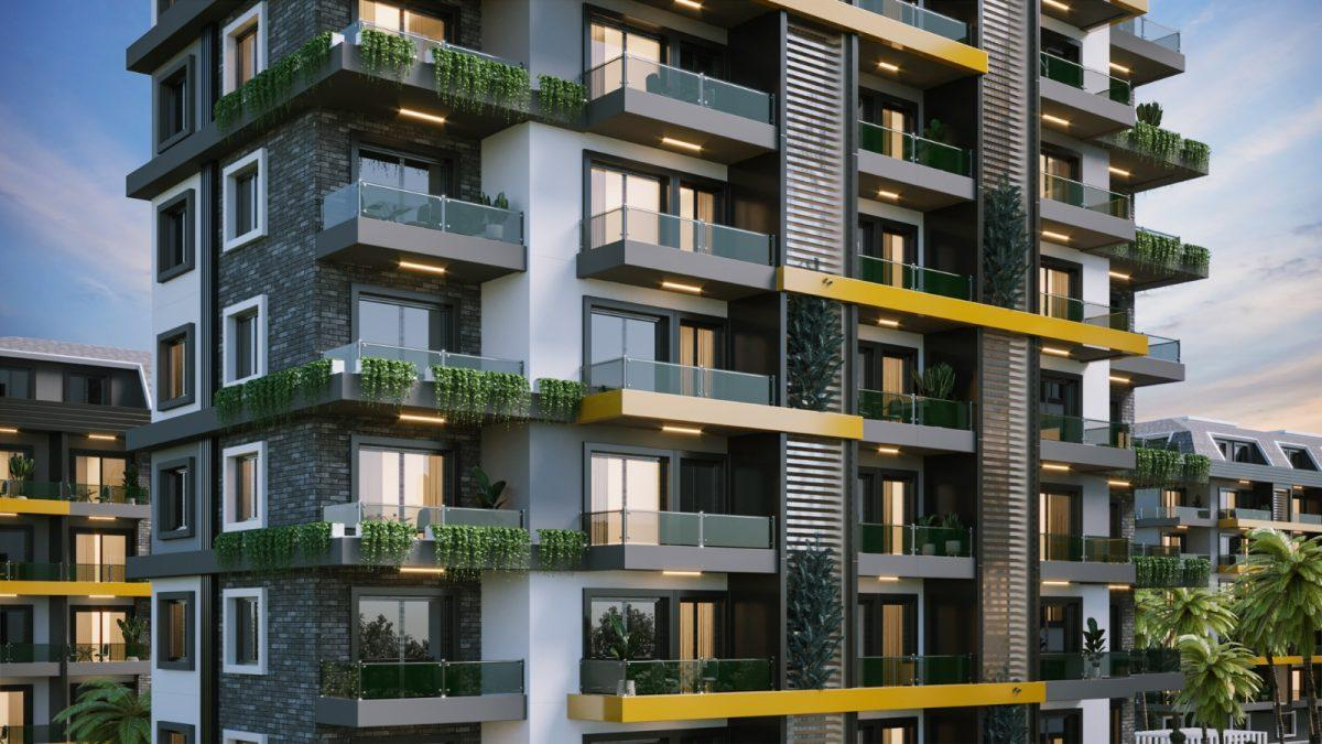 Новые апартаменты по ценам от застройщика в Авсалларе - Фото 7