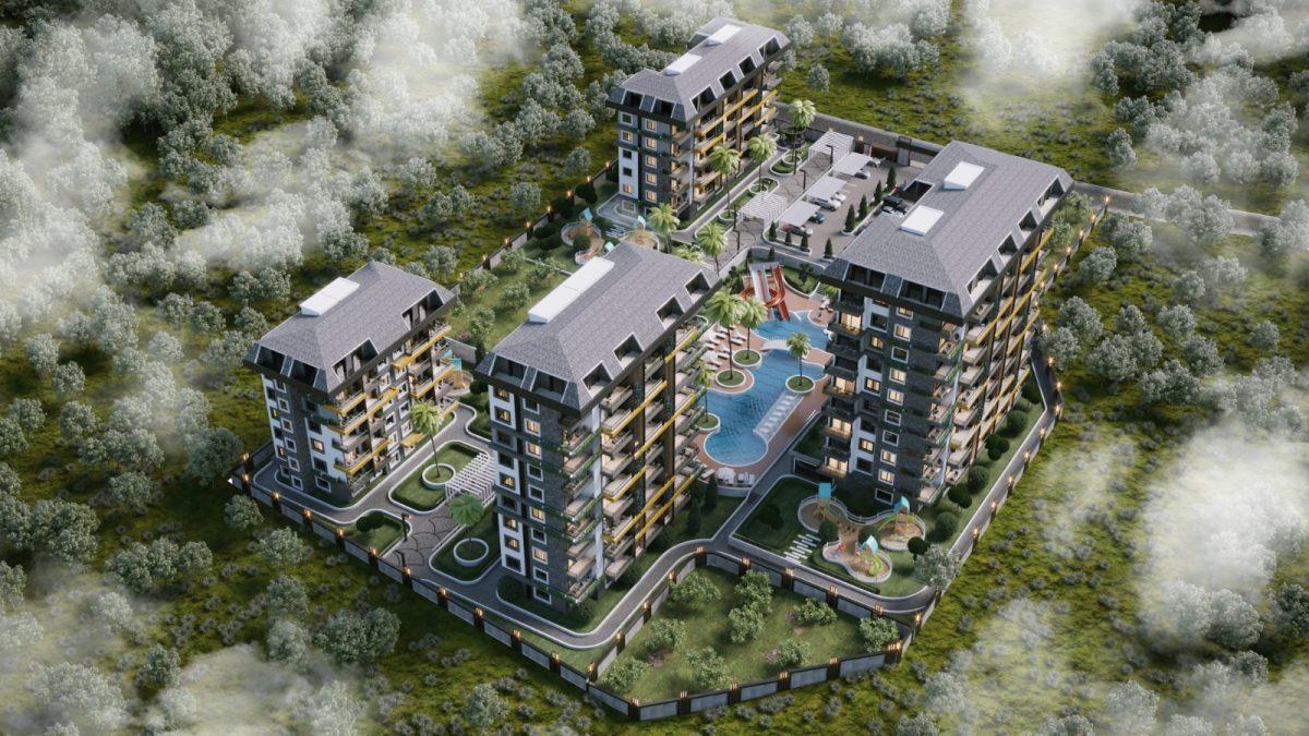 Новые апартаменты по ценам от застройщика в Авсалларе - Фото 10