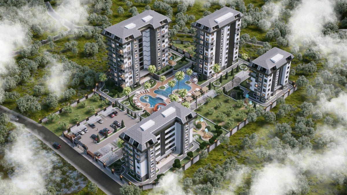 Новые апартаменты по ценам от застройщика в Авсалларе - Фото 12