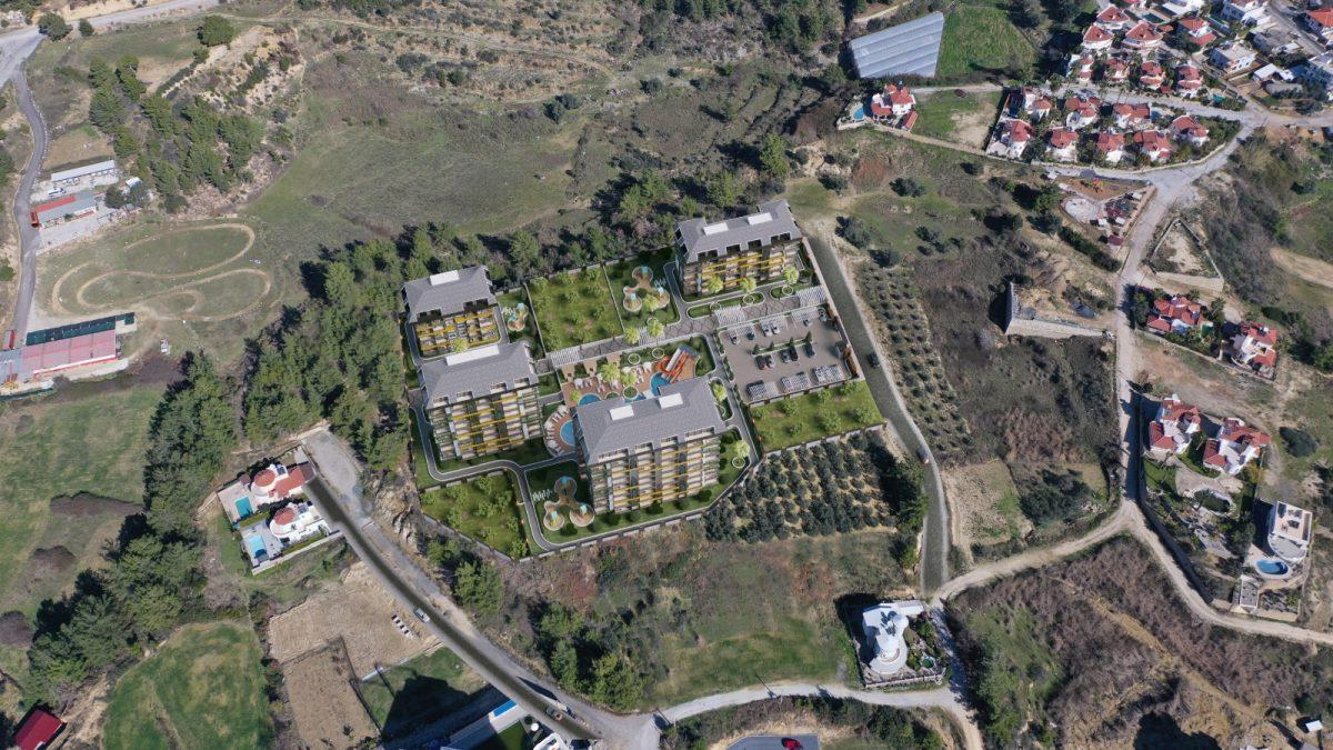 Новые апартаменты по ценам от застройщика в Авсалларе - Фото 15