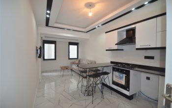 Двухкомнатные апартаменты в центре Алании по выгодной цене