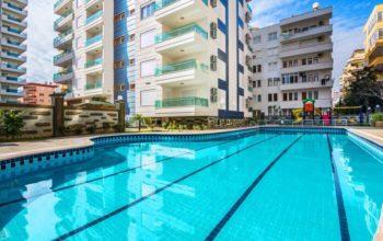Современный жилой комплекс в курортном районе Махмутлар, всего в 200 м от моря