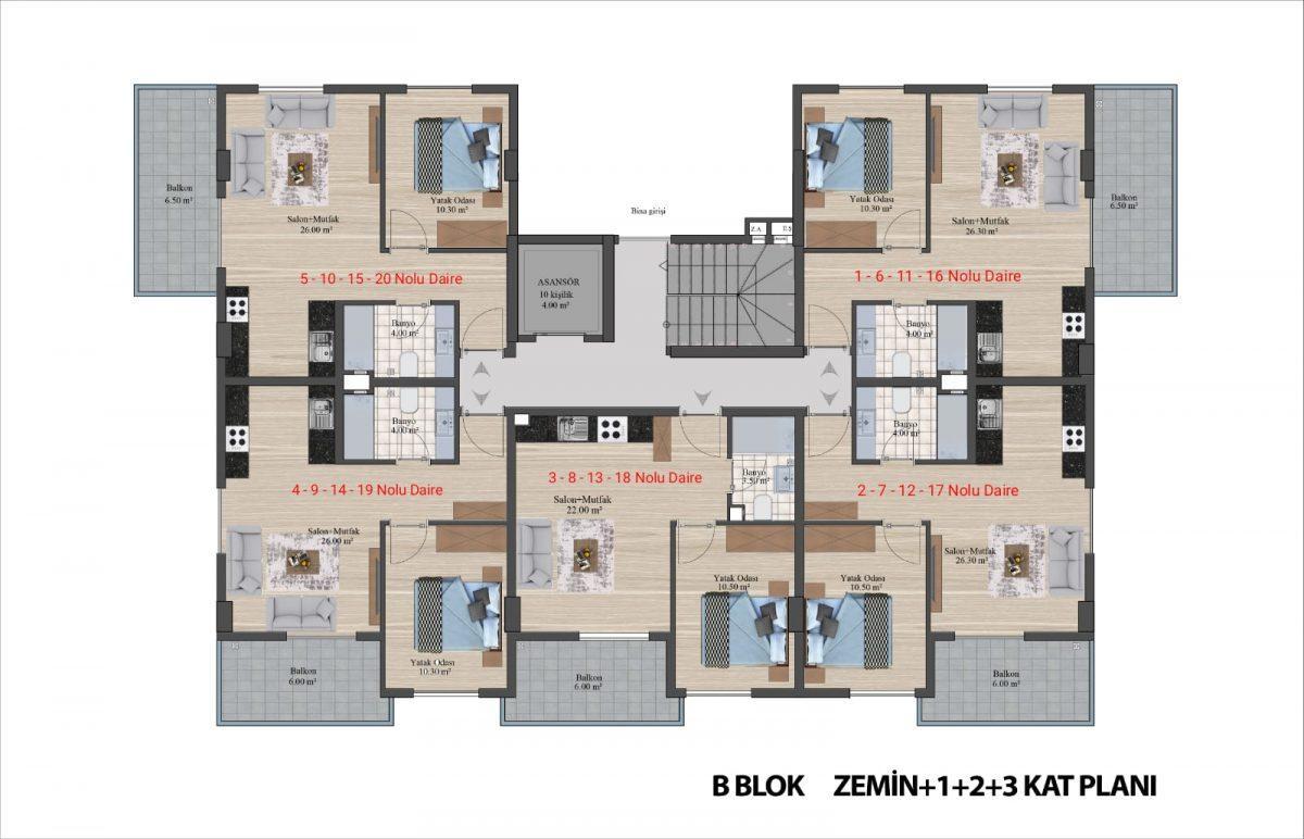 Новый уютный комплекс в Каргыджаке - Фото 45