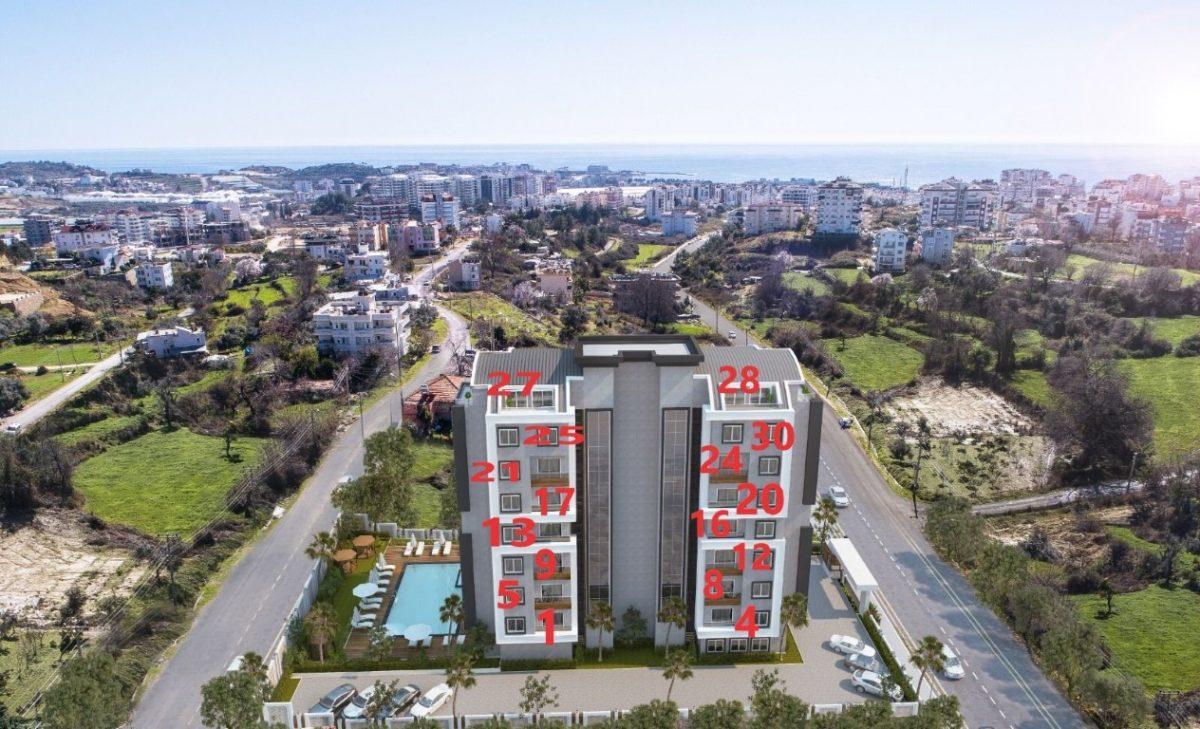 Новый проект жилого комплекса в Авсалларе - Фото 26