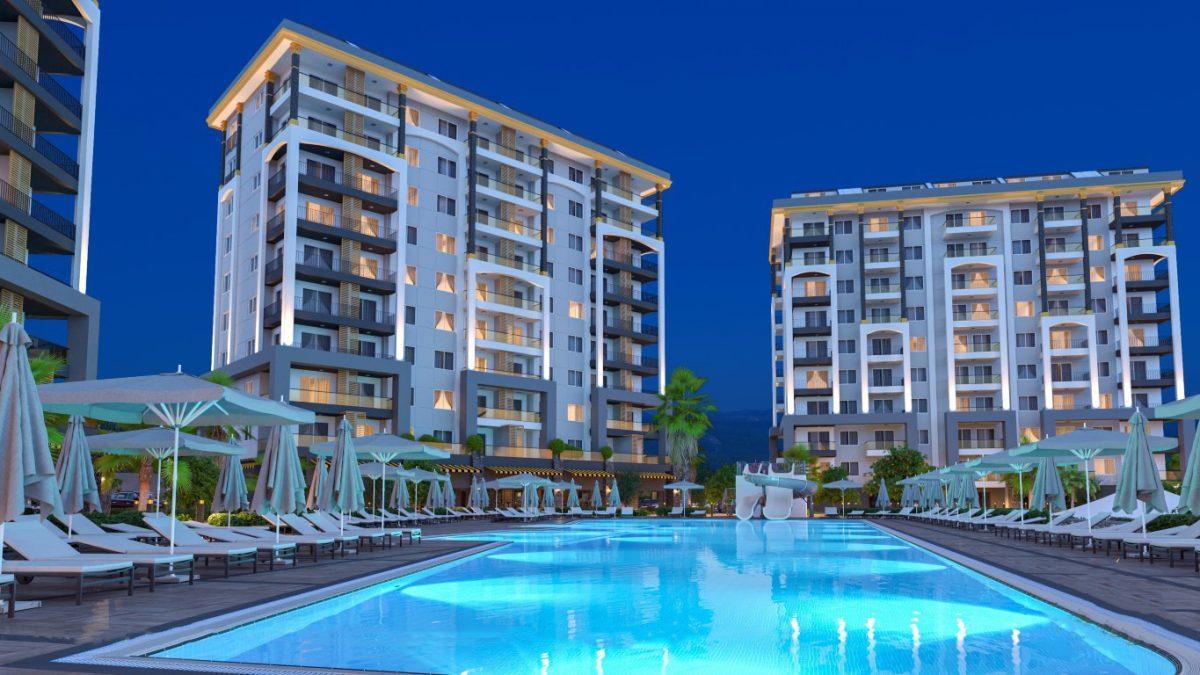 Новые квартиры в районе Авсаллар - Фото 19