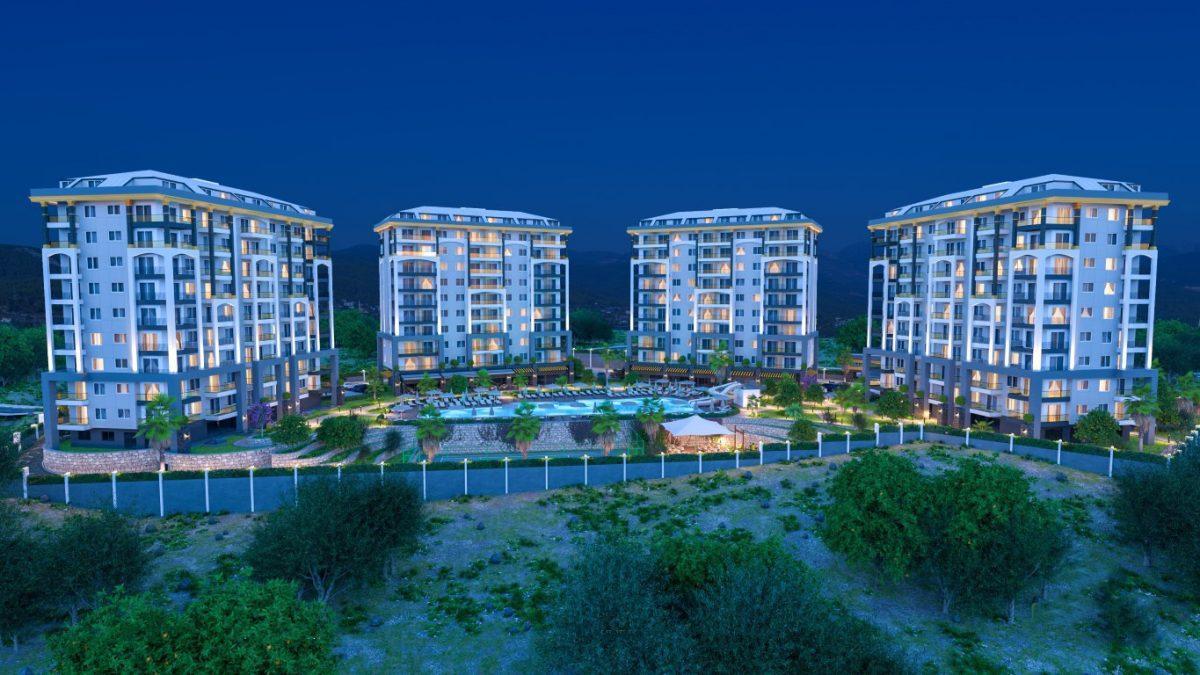 Новые квартиры в районе Авсаллар - Фото 20