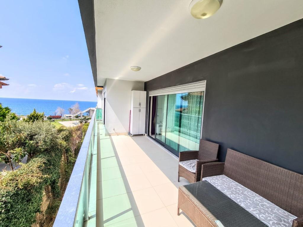 Меблированная квартира 2+1 с видом на море - Фото 28