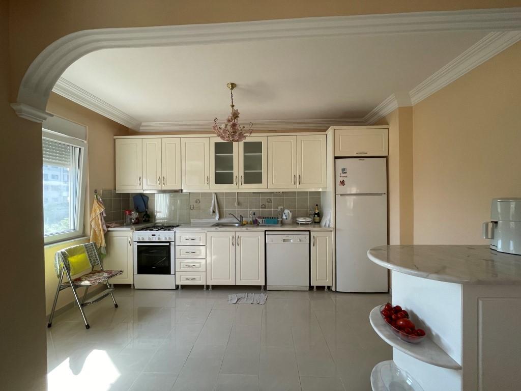 Меблированная квартира 2+1 рядом с морем в Махмутларе площадью 120 метров - Фото 3