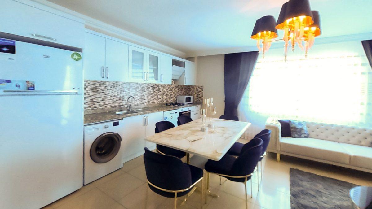Красивая квартира 2+1 с мебелью в Махмутларе - Фото 15