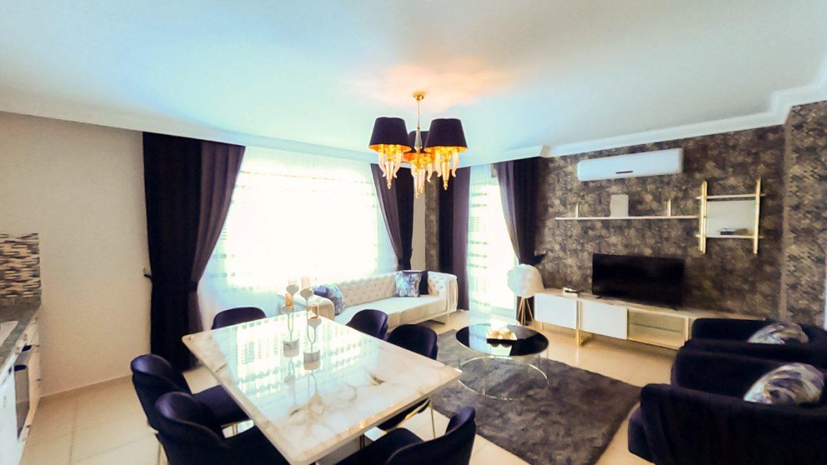 Красивая квартира 2+1 с мебелью в Махмутларе - Фото 16