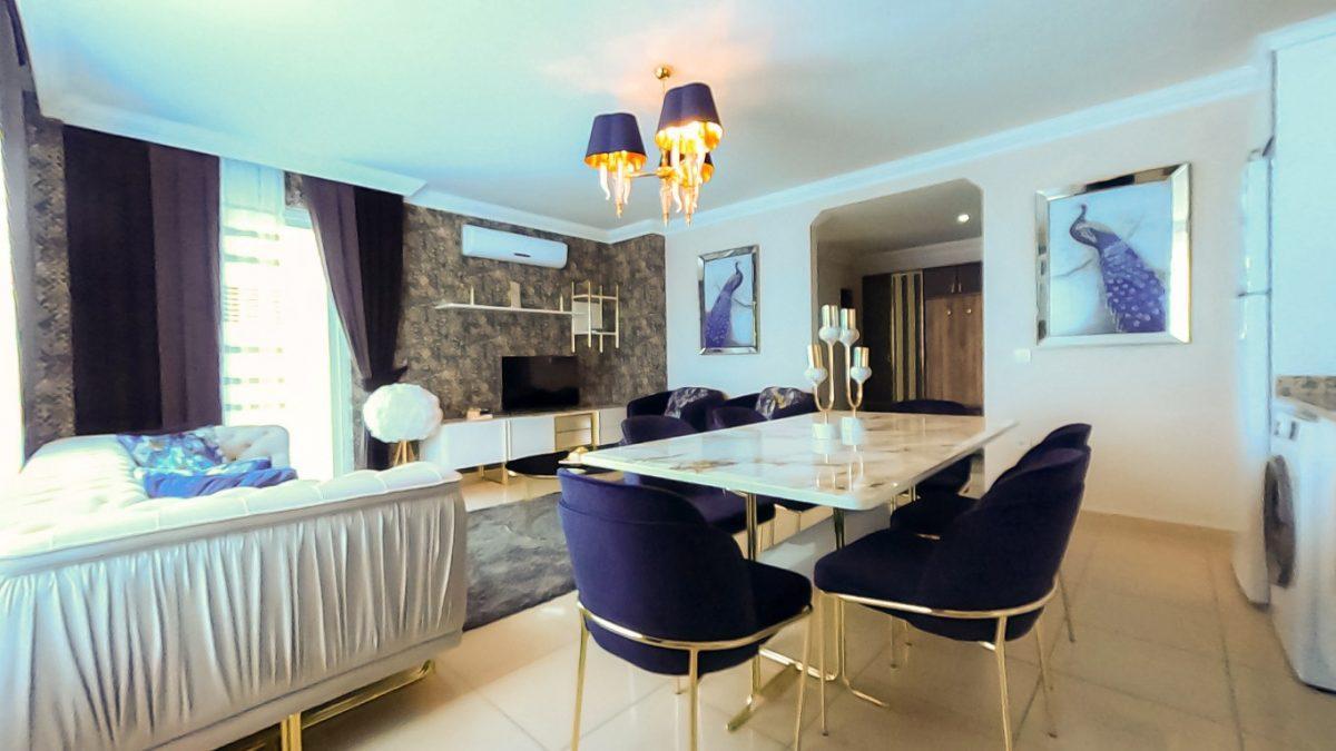Красивая квартира 2+1 с мебелью в Махмутларе - Фото 17