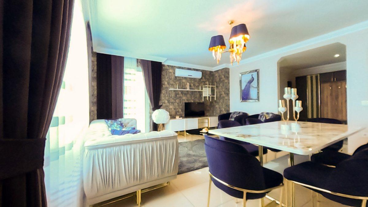 Красивая квартира 2+1 с мебелью в Махмутларе - Фото 18