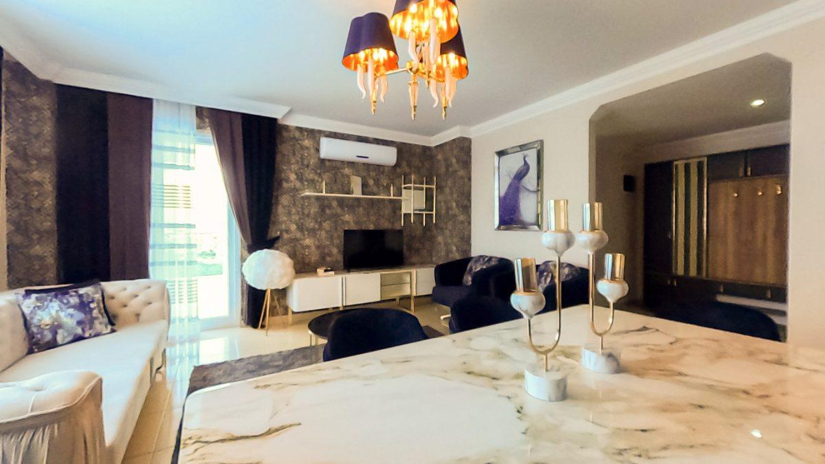 Красивая квартира 2+1 с мебелью в Махмутларе - Фото 19