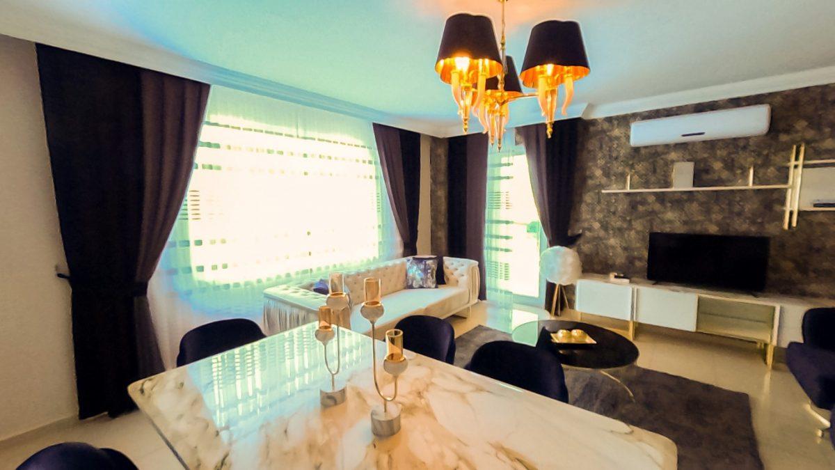 Красивая квартира 2+1 с мебелью в Махмутларе - Фото 20