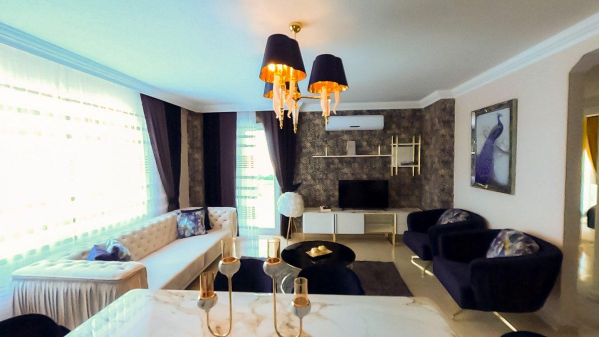 Красивая квартира 2+1 с мебелью в Махмутларе - Фото 21
