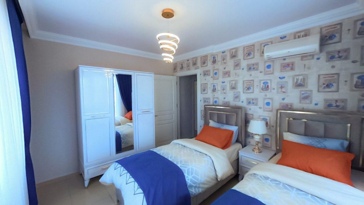 Красивая квартира 2+1 с мебелью в Махмутларе - Фото 25