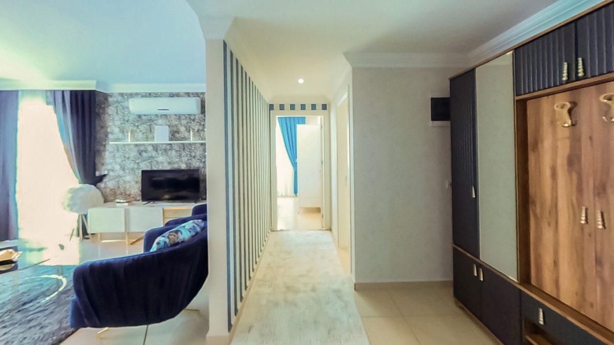 Красивая квартира 2+1 с мебелью в Махмутларе - Фото 28
