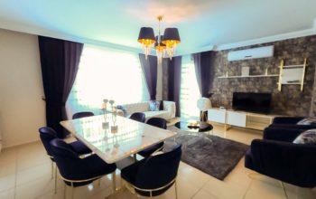 Красивая квартира 2+1 с мебелью в Махмутларе