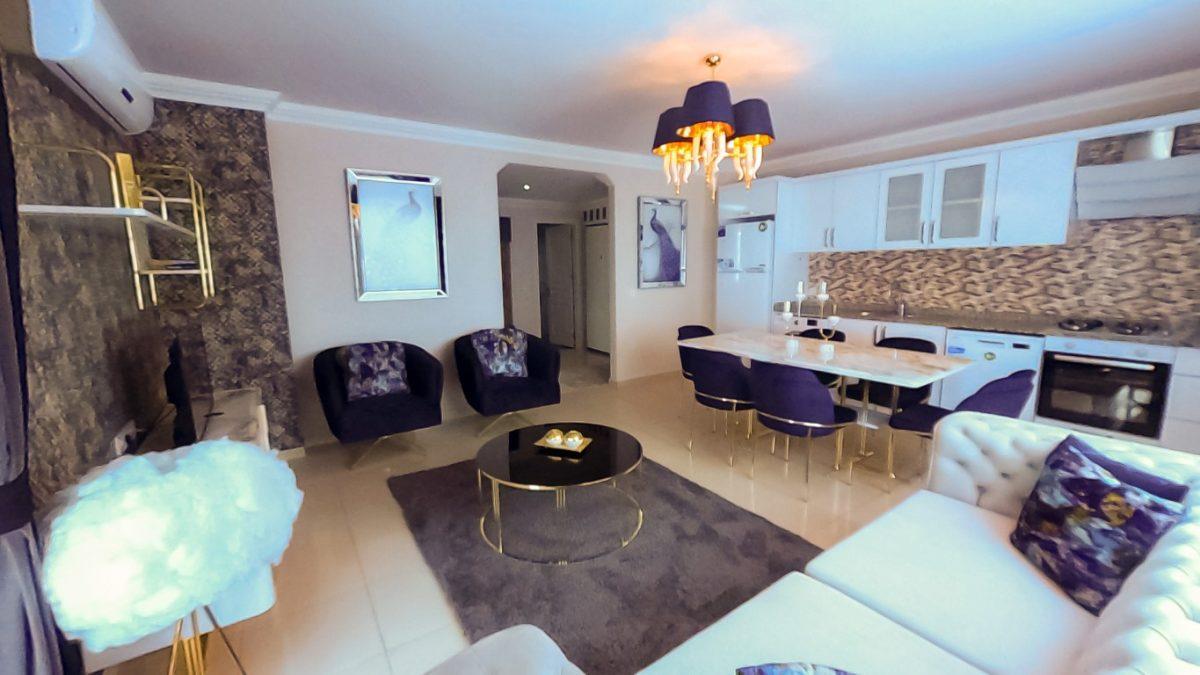 Красивая квартира 2+1 с мебелью в Махмутларе - Фото 31