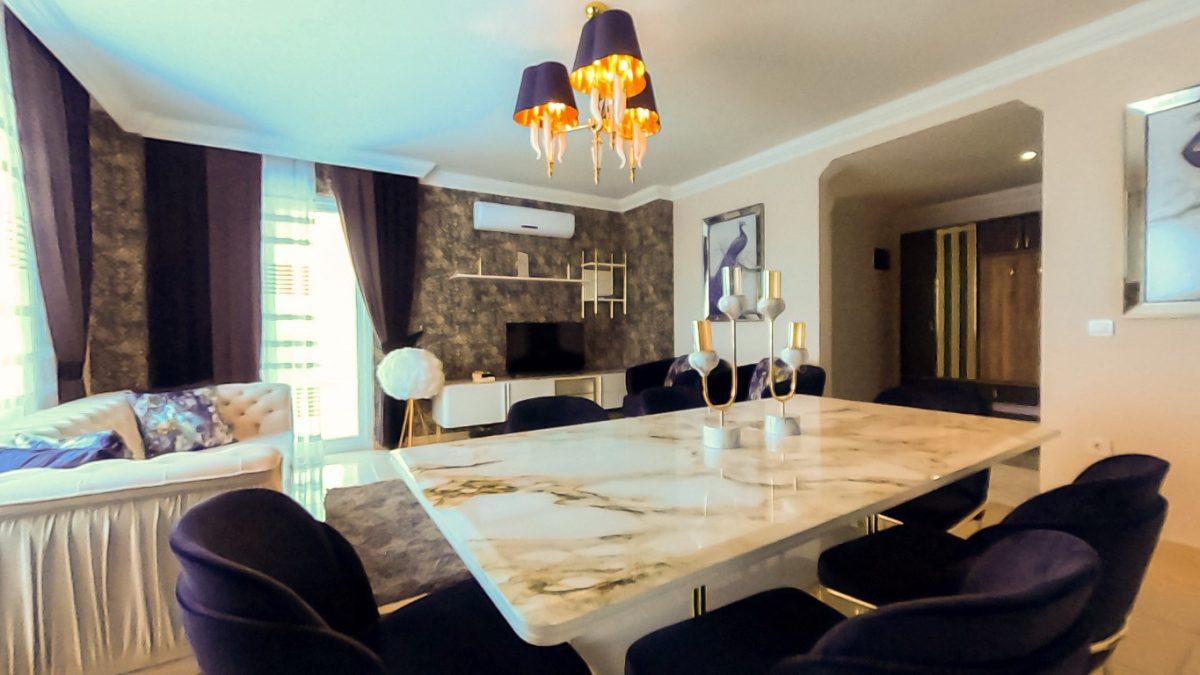 Красивая квартира 2+1 с мебелью в Махмутларе - Фото 32