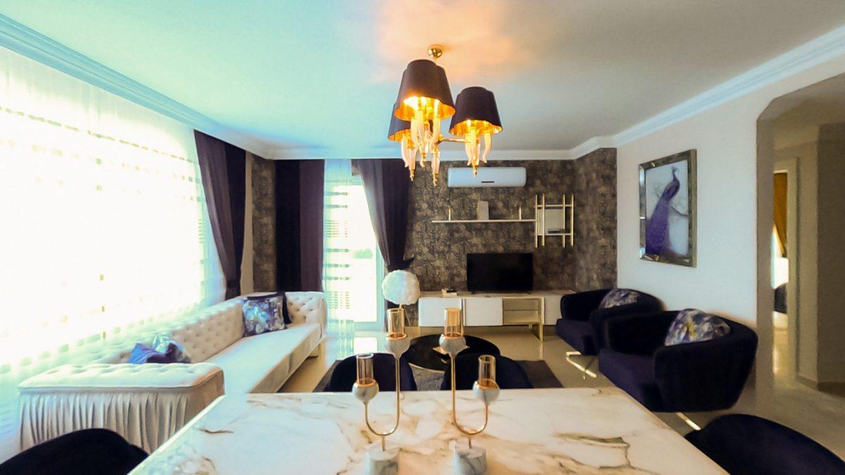 Красивая квартира 2+1 с мебелью в Махмутларе - Фото 33