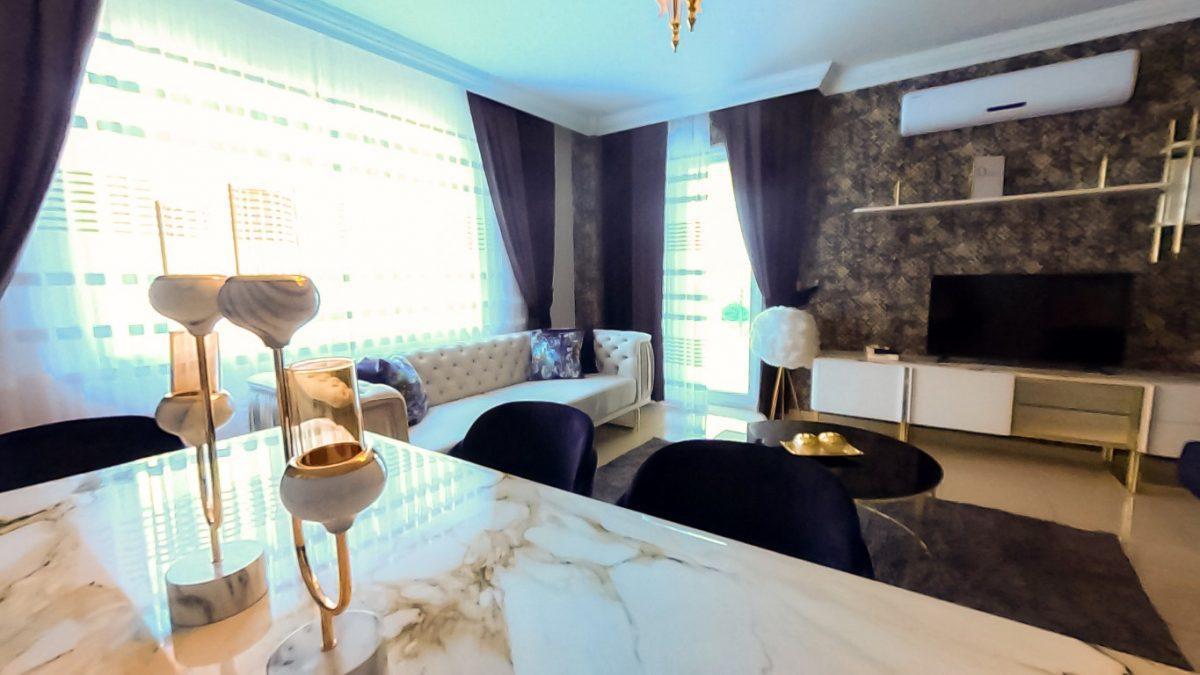 Красивая квартира 2+1 с мебелью в Махмутларе - Фото 34