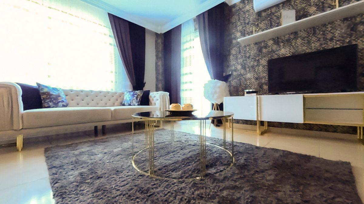 Красивая квартира 2+1 с мебелью в Махмутларе - Фото 35
