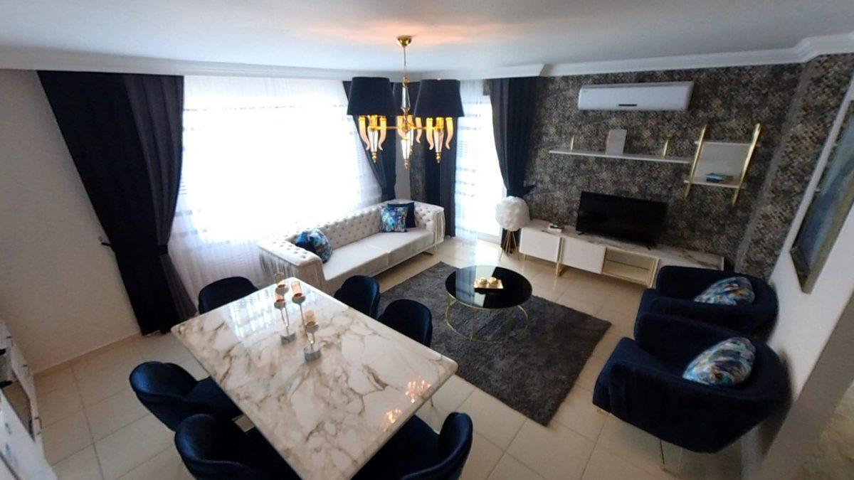 Красивая квартира 2+1 с мебелью в Махмутларе - Фото 37