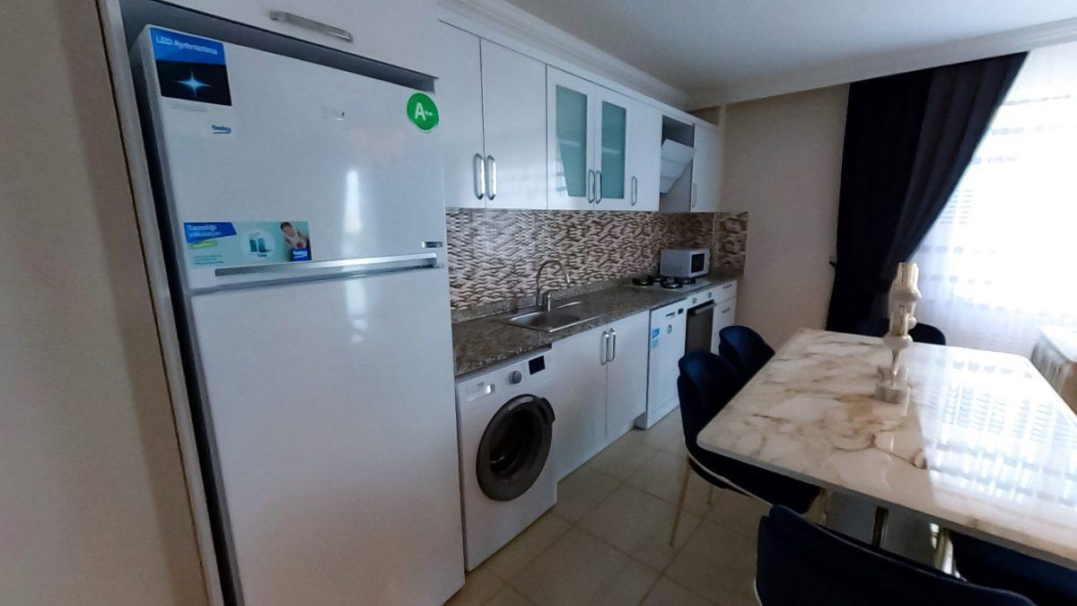 Красивая квартира 2+1 с мебелью в Махмутларе - Фото 40