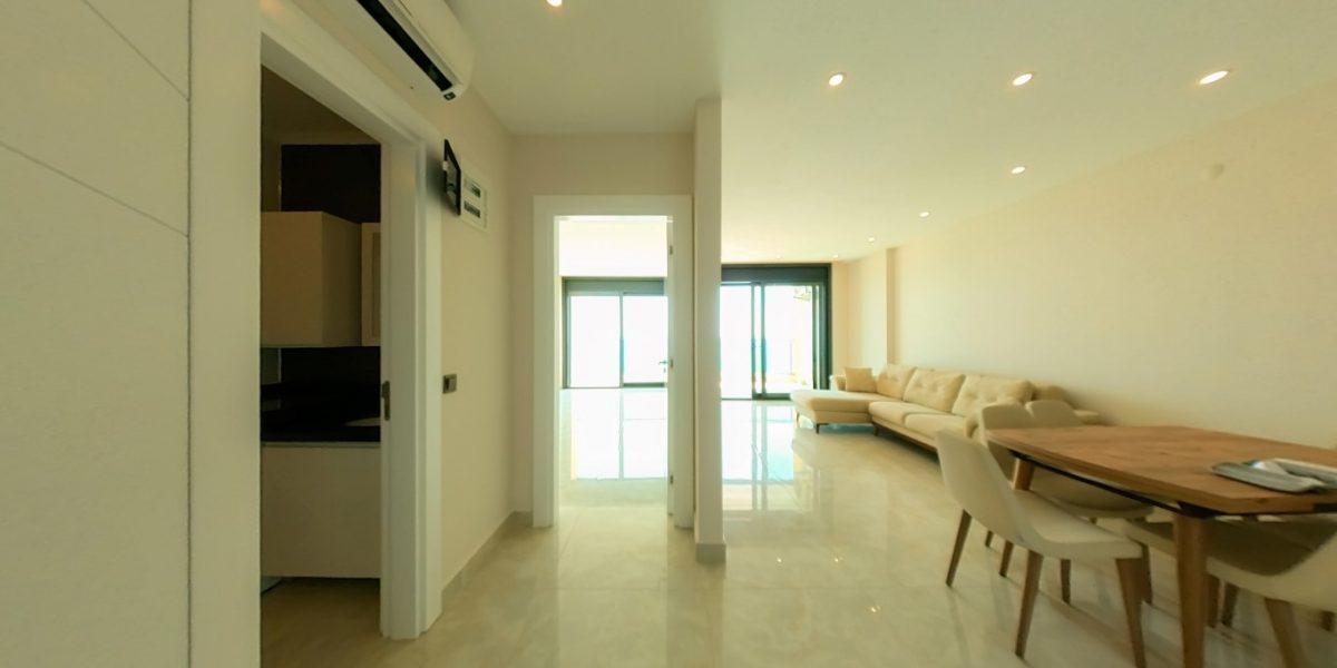 Апартаменты на первой линии в Махмутларе с панорамным видом на море - Фото 2