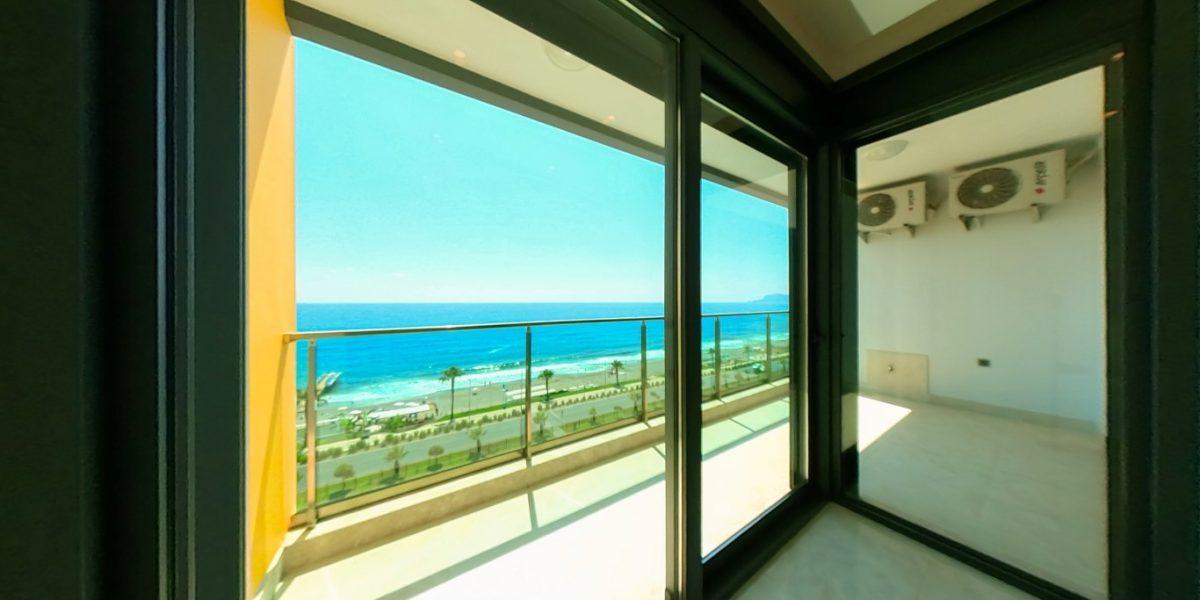 Апартаменты на первой линии в Махмутларе с панорамным видом на море - Фото 12