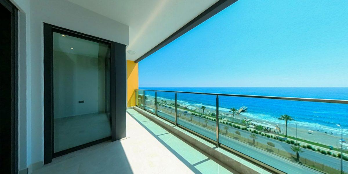 Апартаменты на первой линии в Махмутларе с панорамным видом на море - Фото 16
