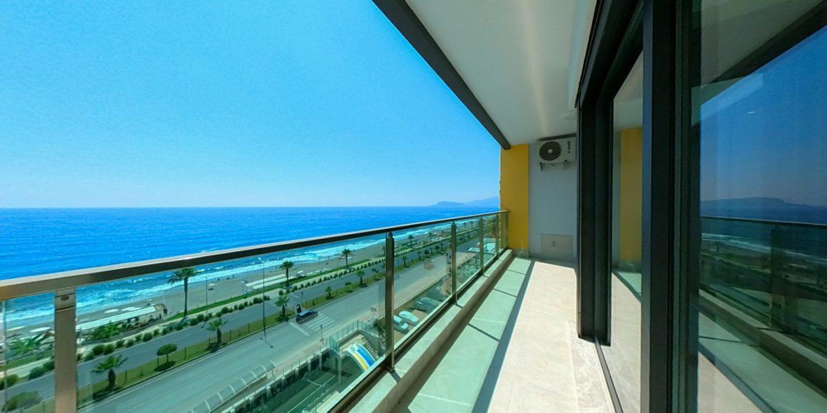 Апартаменты на первой линии в Махмутларе с панорамным видом на море - Фото 18