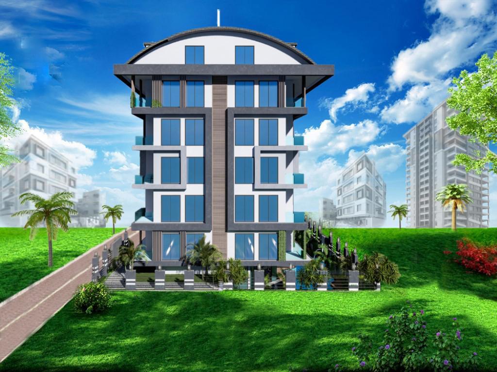 Строящийся жилой комплекс в Алании рядом с центром - Фото 1