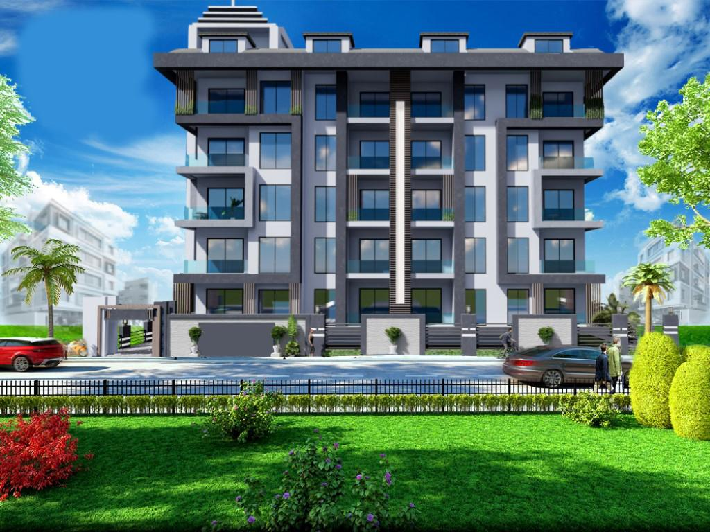 Строящийся жилой комплекс в Алании рядом с центром - Фото 2